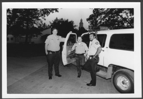 Security officers at the Menninger Clinic in Topeka, Kansas - Page