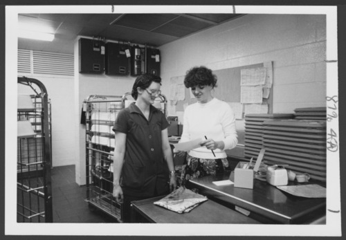 Menninger Clinic food service staff in Topeka, Kansas - Page