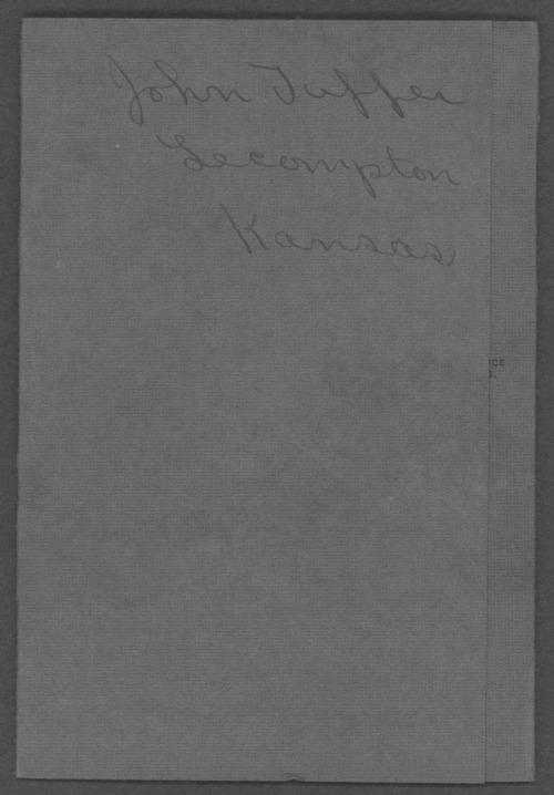 John Tupper, World War I soldier - Page