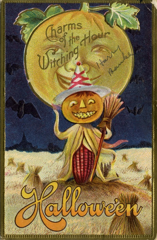 Halloween invitation, 1916