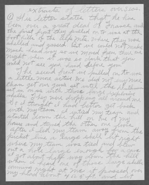 Harvey Hudson Pierce, World War I soldier - Page