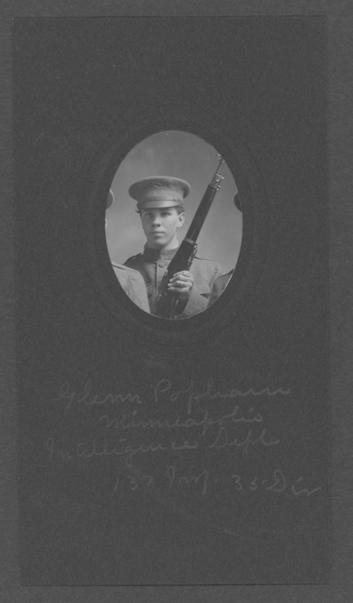 Glenn Popham, World War I soldier - Page