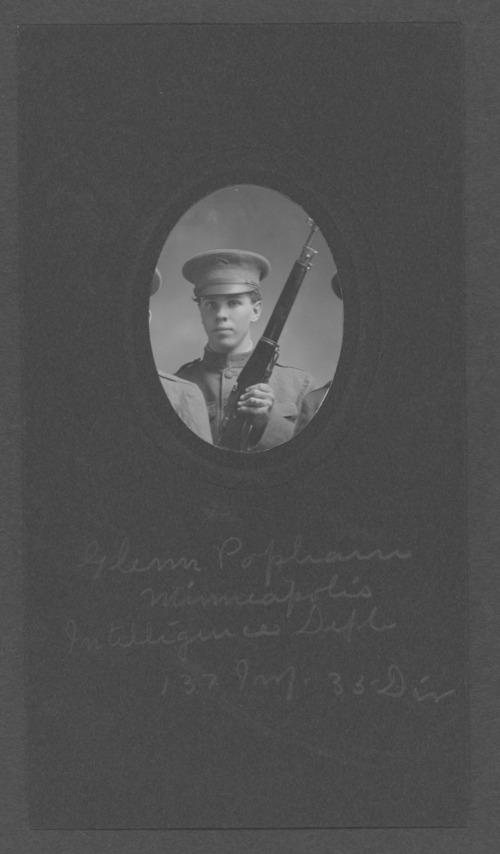 Glenn Popham, World War I soldier - Page