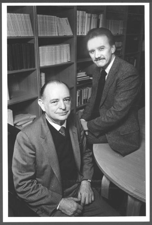 William Tarnower, M.D. and William Kearns, M.D. at the Menninger Clinic in Topeka, Kansas - Page