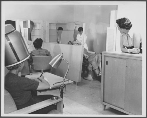 Hair salon at the C.F. Menninger Memorial Hospital, Topeka, Kansas - Page