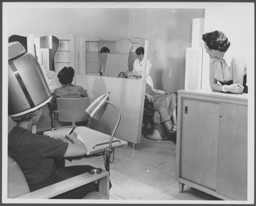 Hair salon at the C.F. Menninger Memorial Hospital, Topeka, Kansas - Page