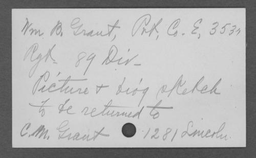William B. Grant, World War I soldier - Page