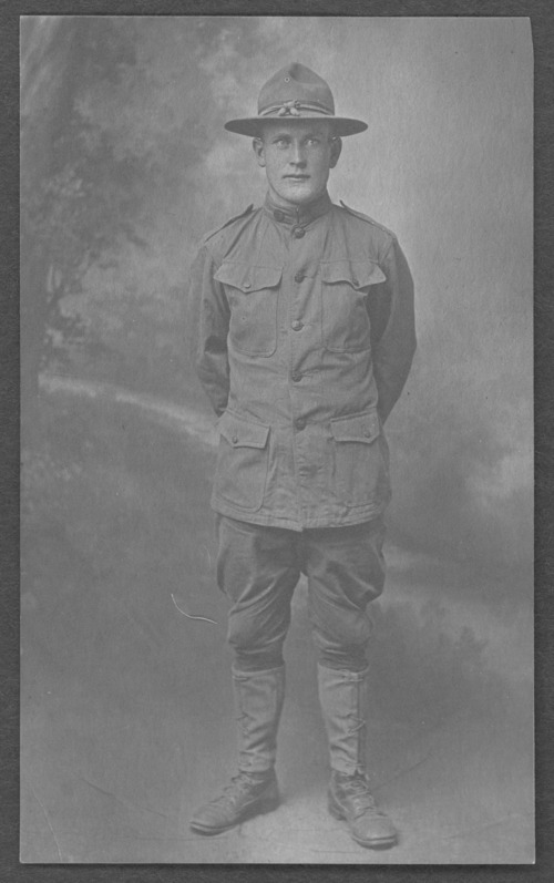 Earl Morris, World War I soldier - Page