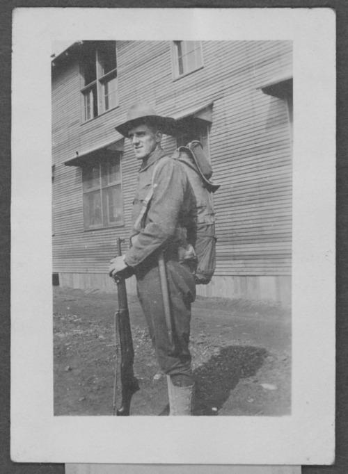 John Arthur Mullins, World War I soldier - Page