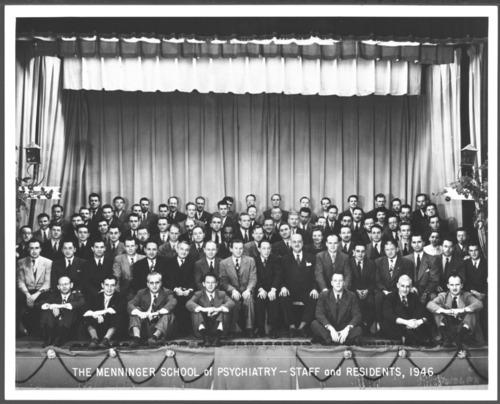 Menninger School of Psychiatry Staff, Topeka, Kansas, 1946 - Page