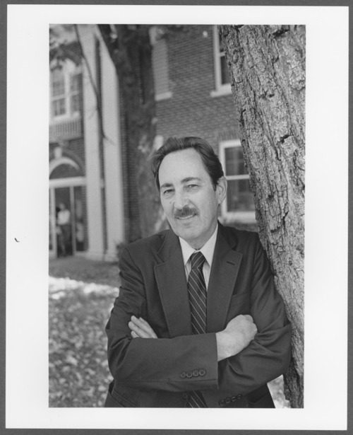Herbert Spohn, Ph.D. at the Menninger Research Building, Topeka, Kansas - Page