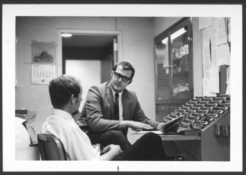 Dr. Dirk Ohie and Dr. Dennis Kottke at Menninger Clinic in Topeka, Kansas - Page