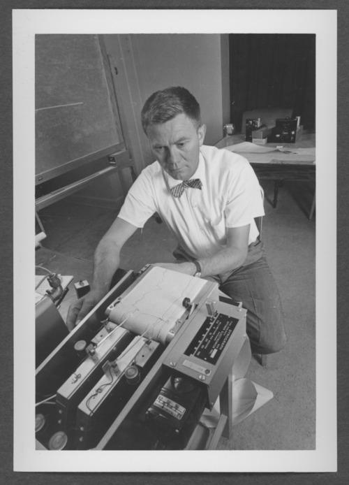 Polygraph machine at Menninger Research, Topeka, Kansas - Page