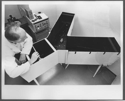 Joseph Kovach, PhD and a Japanese quail project, Menninger Foundation, Topeka, Kansas - Page