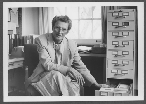 B. Horne, archivist at the Menninger Foundation, Topeka, Kansas - Page