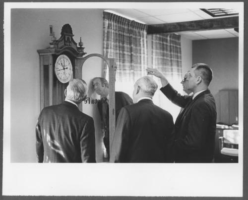 Santa Fe clock presented to Menninger research department in Topeka, Kansas - Page