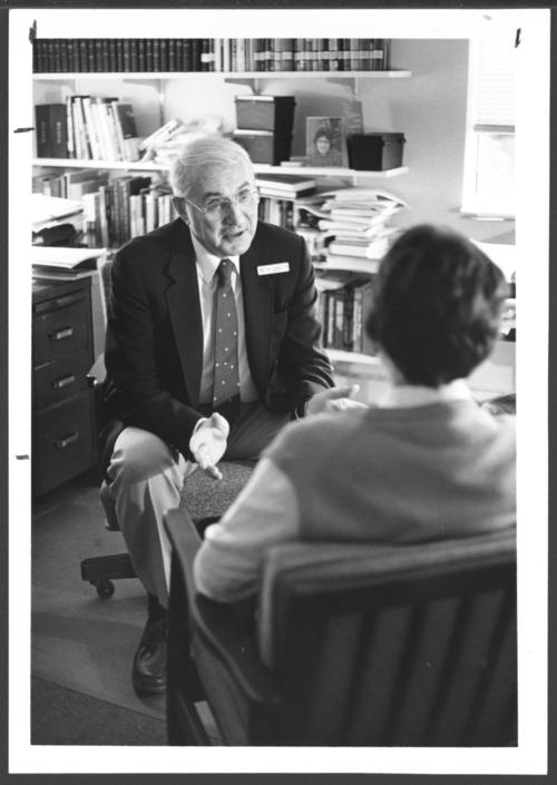John Dillingham, chaplain at the Menninger Clinic in Topeka, Kansas - Page