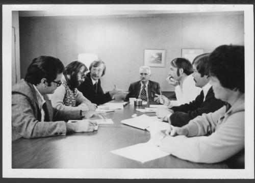 Menninger staff meeting, Topeka, Kansas - Page