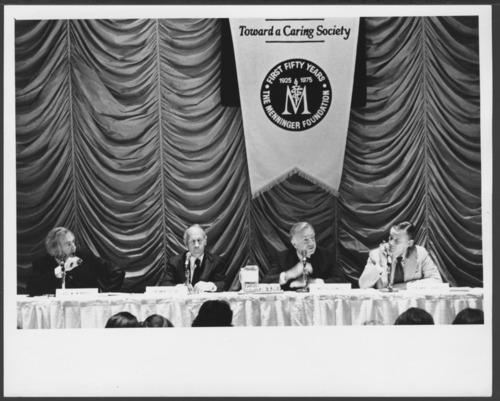 "Menninger Foundation convocation ""Toward a Caring Society"" - Page"