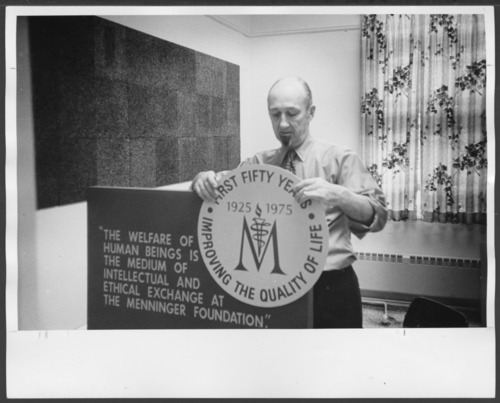 Menninger Foundation 50th anniversary poster - Page