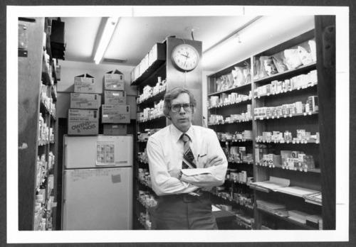 B.D. Ehler, pharmacist at Menninger Clinic, Topeka, Kansas - Page