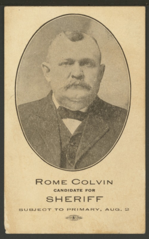 "Jerome Ashby ""Rome"" Colvin - Page"