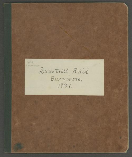 List of Quantrill's raid survivors, Lawrence, Kansas - Page