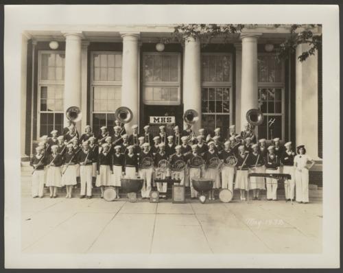 McPherson High School band in McPherson, Kansas - Page