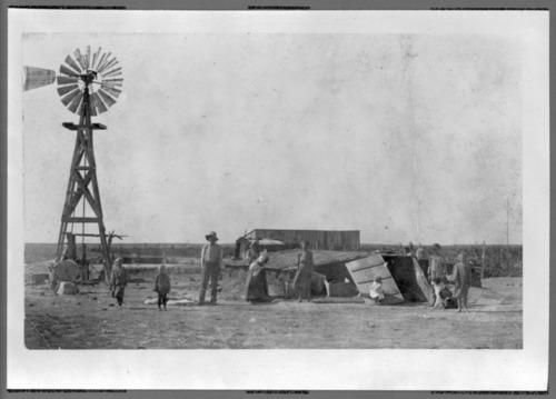 Dugout in Hamilton County, Kansas - Page