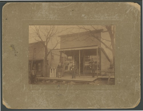 T. D. Morrow dry goods store in Lane, Kansas - Page