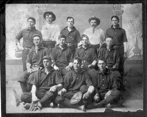 Claflin baseball team, Claflin, Kansas - Page