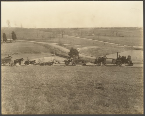 Farm machinery of the Security Benefit Association in Topeka, Kansas - Page