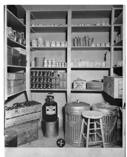 Pantry, kitchen, and dining room of the Security Benefit Association hospital in Topeka, Kansas - Page