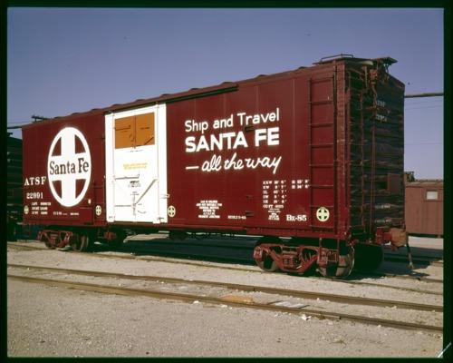 Grain loading boxcar - Page