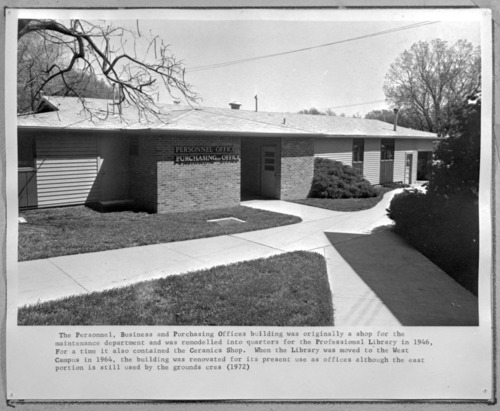 Personnel Office building, Menninger East Campus, Topeka, Kansas - Page