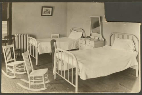 Room interiors in the Security Benefit Association orphanage in Topeka, Kansas - Page