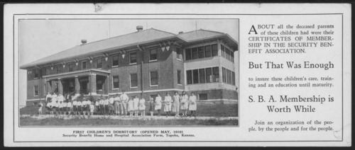 Advertising for Security Benefit Association in Topeka, Kansas - Page