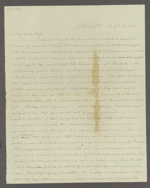 Edmund G. Ross correspondence - Page