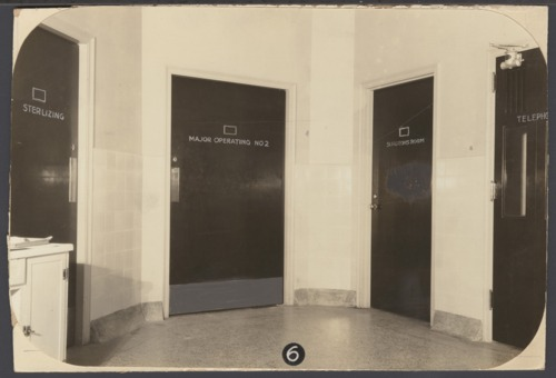 Operating rooms at the Security Benefit Association hospital in Topeka, Kansas - Page
