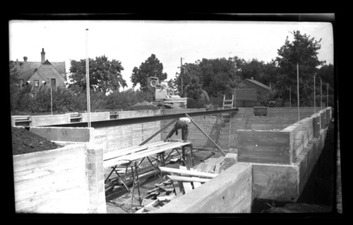 Construction of Keys Manual Arts Shop, Menninger Clinic, Topeka - Page
