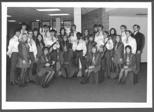 Hesston College chamber choir in Hesston, Kansas - Page