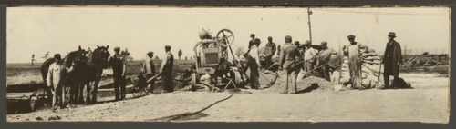 Roadbuilding crew in Topeka, Kansas - Page