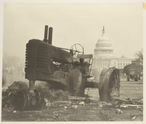 American Agriculture Movement protest in Washington, D. C. - Page