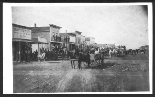 Commercial street, Oswego, Kansas - Page