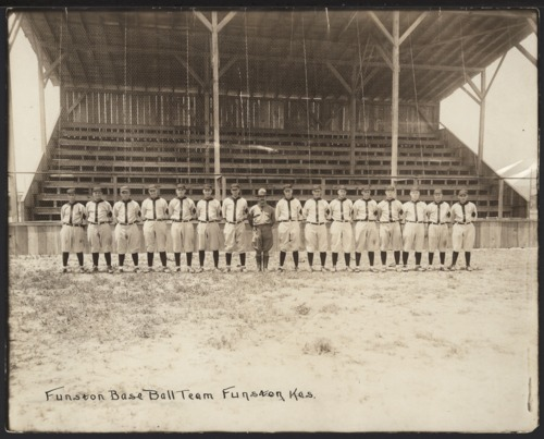 Camp Funston baseball team, Geary County, Kansas - Page