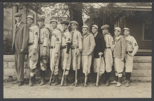 High school baseball team, Dodge City, Kansas - Page