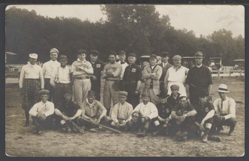 Baseball players, Dodge City, Kansas - Page