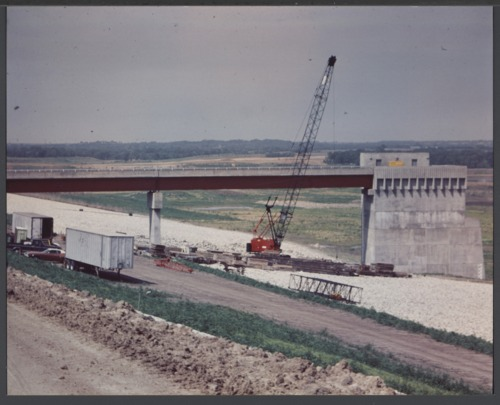 Hillsdale Lake construction in Miami County, Kansas - Page