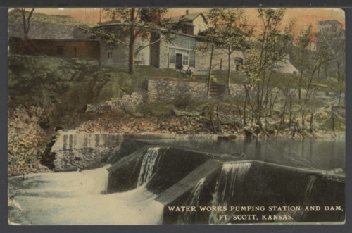 Water works pumping station and dam in Ft. Scott, Kansas - Page