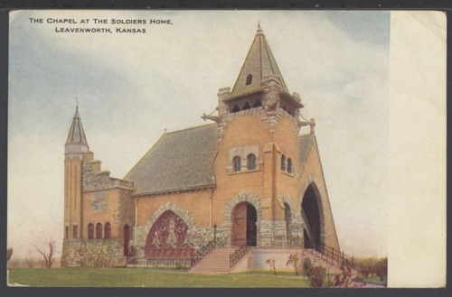 Chapel at the Soldiers Home in Leavenworth, Kansas - Page